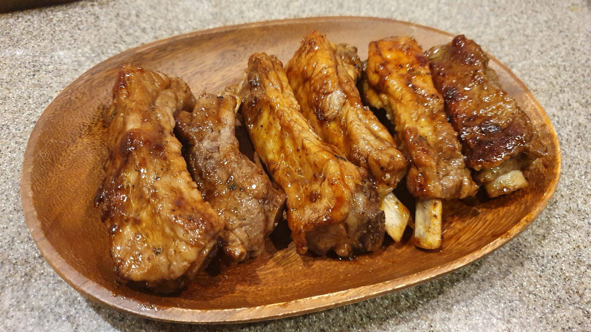 バックリブのバーベキューレシピ