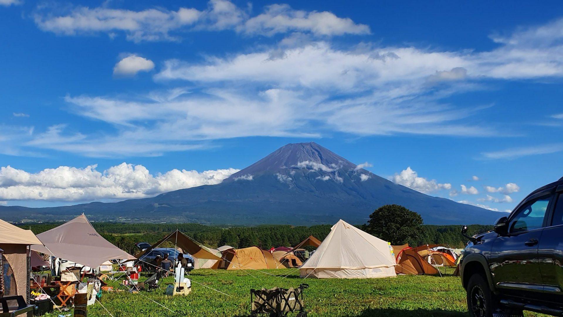 富士山快晴