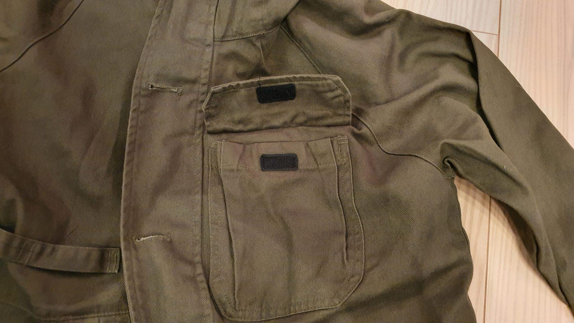 コットンキャンパーPlus胸ポケット