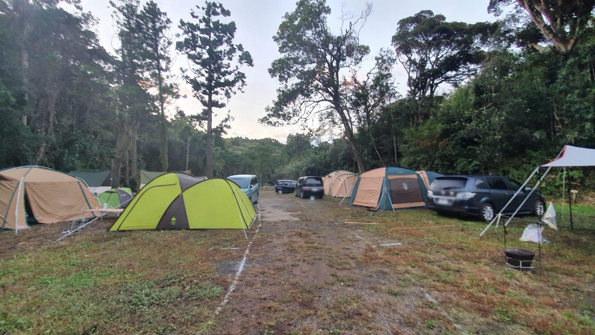 第2キャンプ場奥