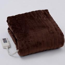 山善 ふわふわもこもこ 電気敷毛布