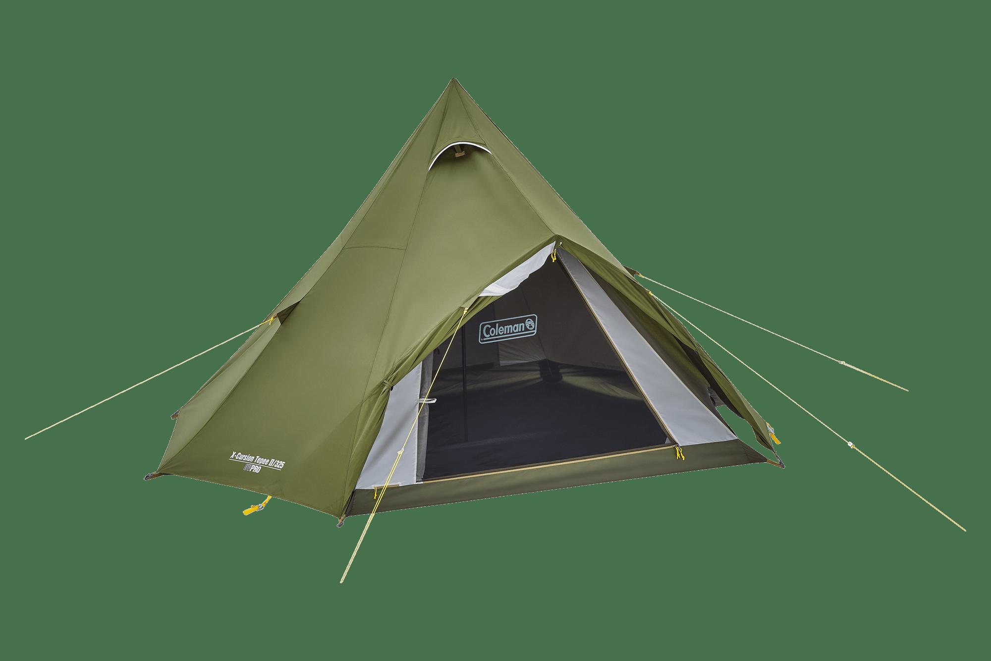 コールマン2021年新作テント