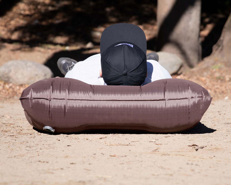 枕付きコンパクトエアーマット
