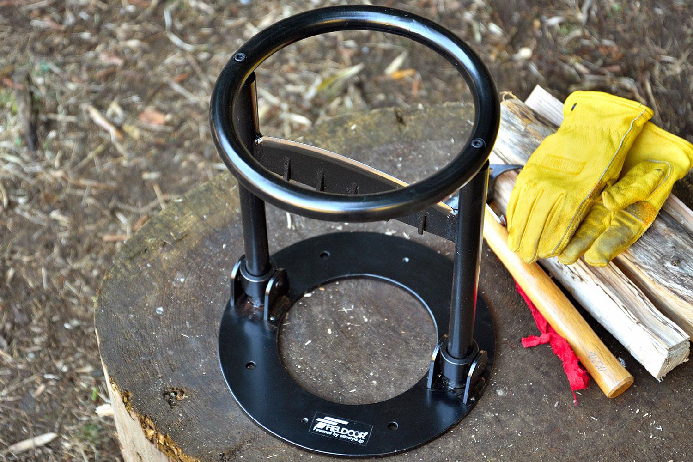 アイアン薪割り器