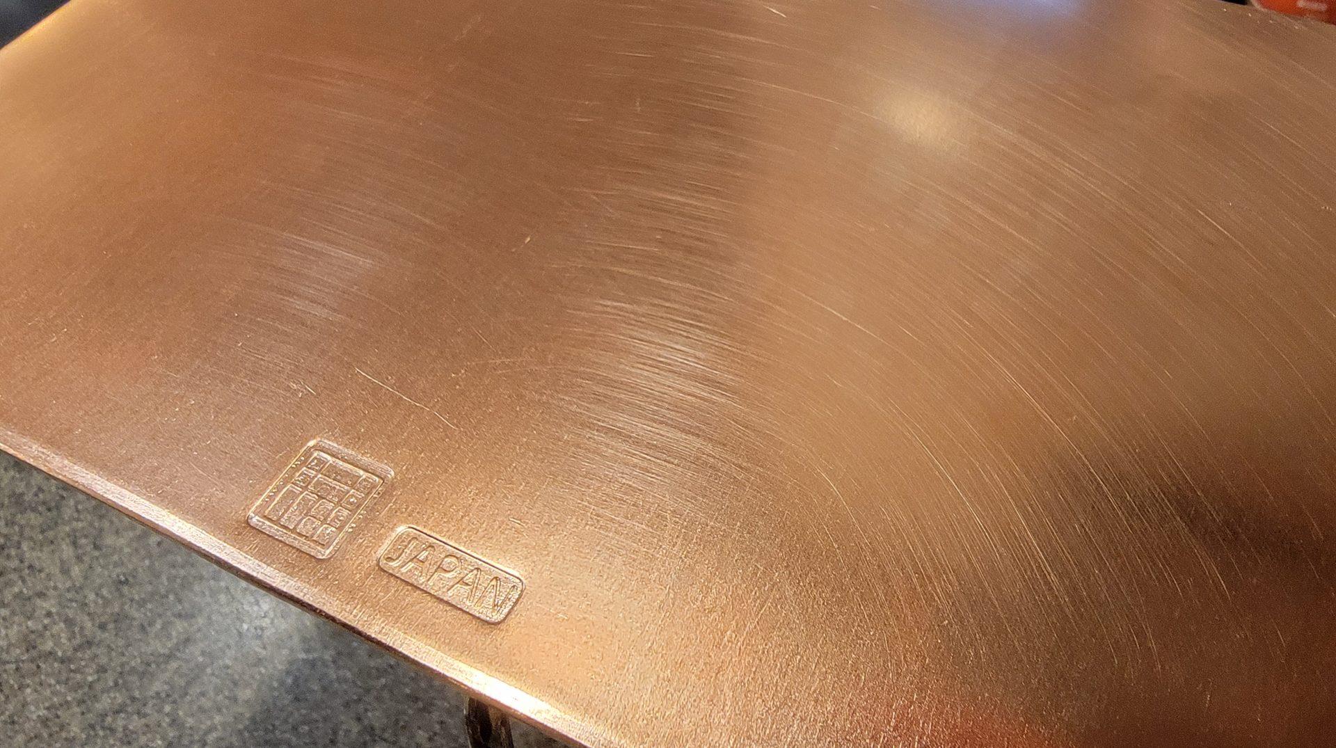 銅製プレート