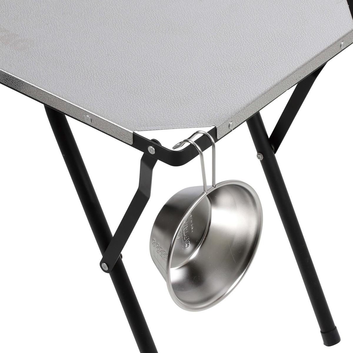 2way ステンレスサイドテーブル 60×30