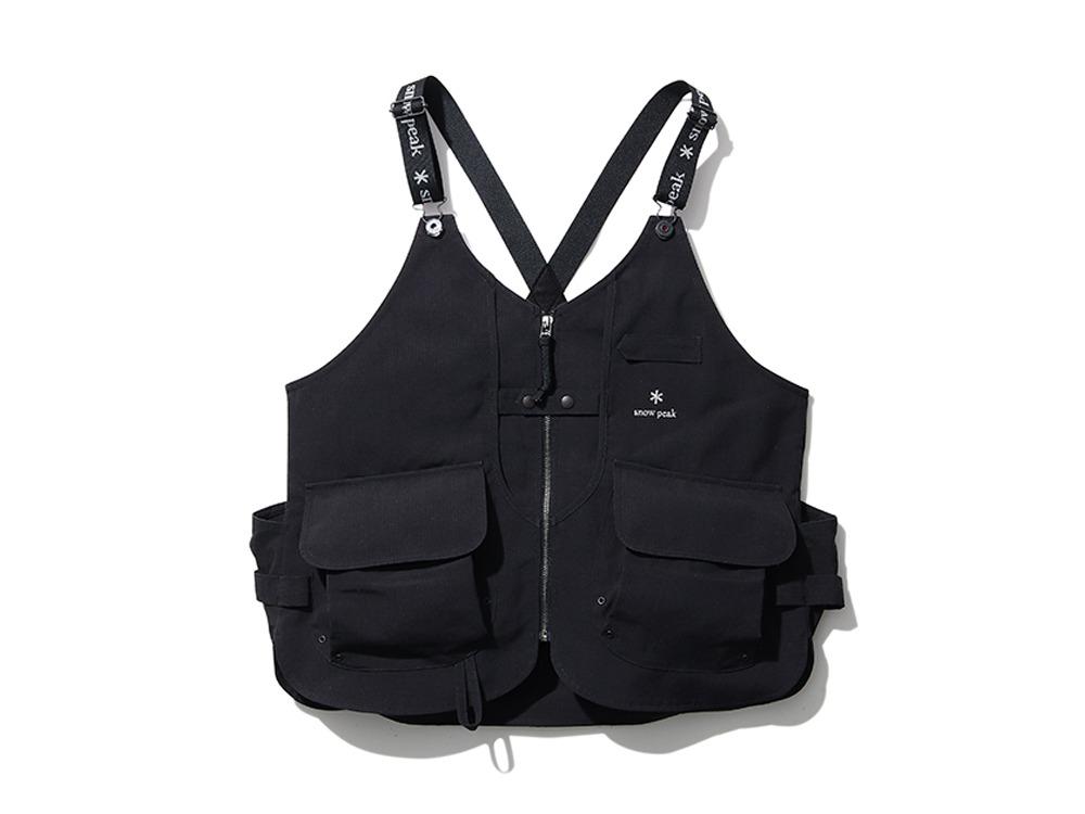 HQ10周年記念 TAKIBI Vest Black