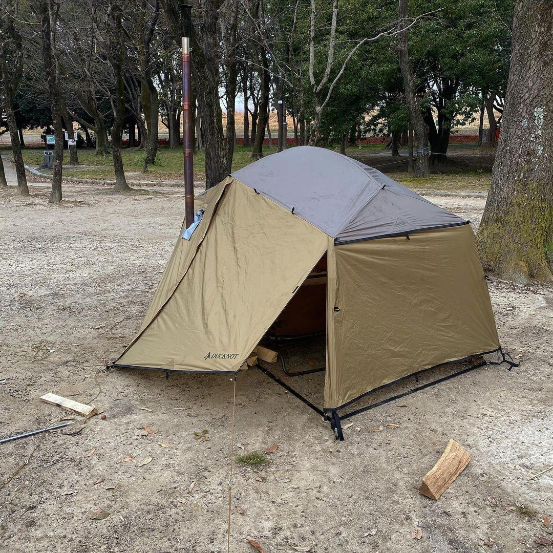 ダックノットハンティングドームテント2P