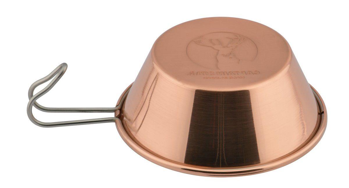 キャプテンスタッグ純銅製 シェラカップ320ml