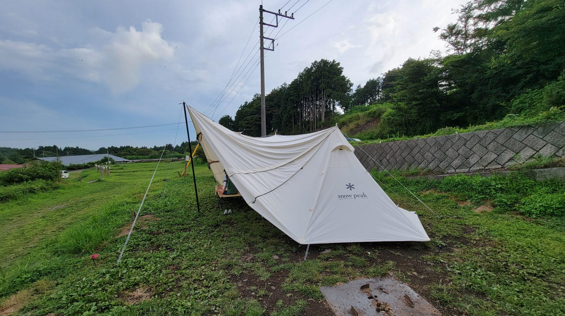 おいしいキャンプ場