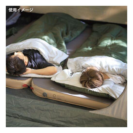 枕付き シングルサイズシュラフ